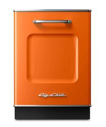 Brand: Big Chill, Model: DW24TQ, Color: Orange