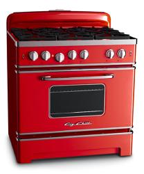 Brand: Big Chill, Model: BCS36BK, Color: Cherry Red