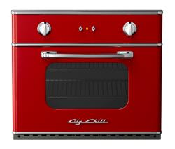 Brand: Big Chill, Model: BCWO30, Color: Cherry Red