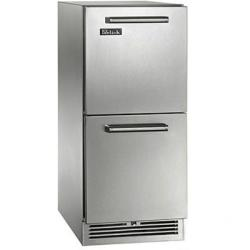 Brand: PERLICK, Model: HP15RS35C, Style: 2.8 cu. ft Refrigerators - Drawers