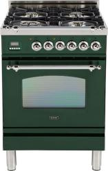 Brand: Ilve, Model: UPN60DVGGAY, Color: Emerald Green