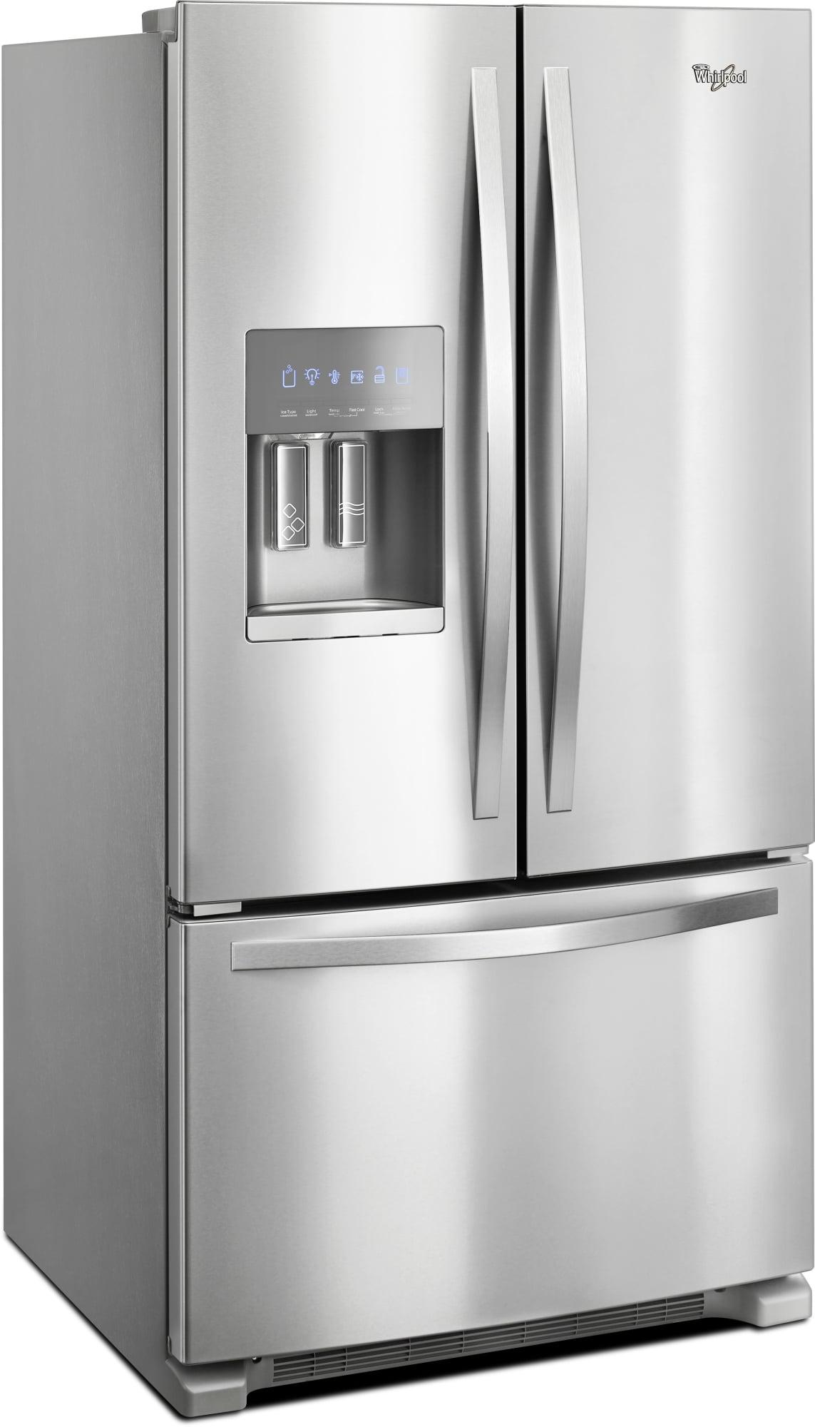 Wrf555sdhv Whirlpool Wrf555sdhv French Door Refrigerators