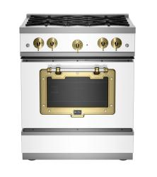 Brand: Big Chill, Model: BCS1900CLAFBCP, Color: White with Brushed Brass