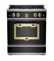 Brand: Big Chill, Model: BCS1900CLAFBCP, Color: Matte Black with Brushed Brass