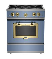 Brand: Big Chill, Model: BCS1900CLAMBSN, Color: French Blue with Brushed Brass