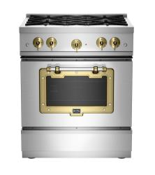 Brand: Big Chill, Model: BCS1900CLAMBSN, Color: Stainless Steel with Brushed Brass