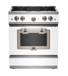 Brand: Big Chill, Model: BCS1900CLAMBSN, Color: White with Satin Nickel