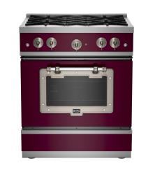 Brand: Big Chill, Model: BCS1900CLAFBCP, Color: Cabernet with Satin Nickel