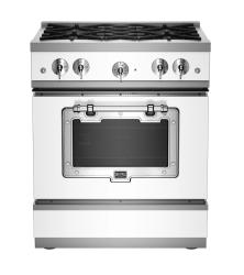 Brand: Big Chill, Model: BCS1900CLAFBCP, Color: White with Chrome