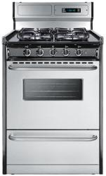 Brand: SUMMIT, Model: TTM63027BKSW, Style: 24 Inch Gas Range
