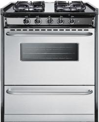 Brand: SUMMIT, Model: TTM21027BRSW, Style: 30 Inch Gas Range