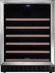 Brand: FRIGIDAIRE, Model: FGWC4633SS, Style: 24 Inch Freestanding or Built-in Undercounter Wine Cooler