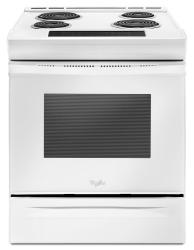 Brand: Whirlpool, Model: WEC310S0FW, Color: White