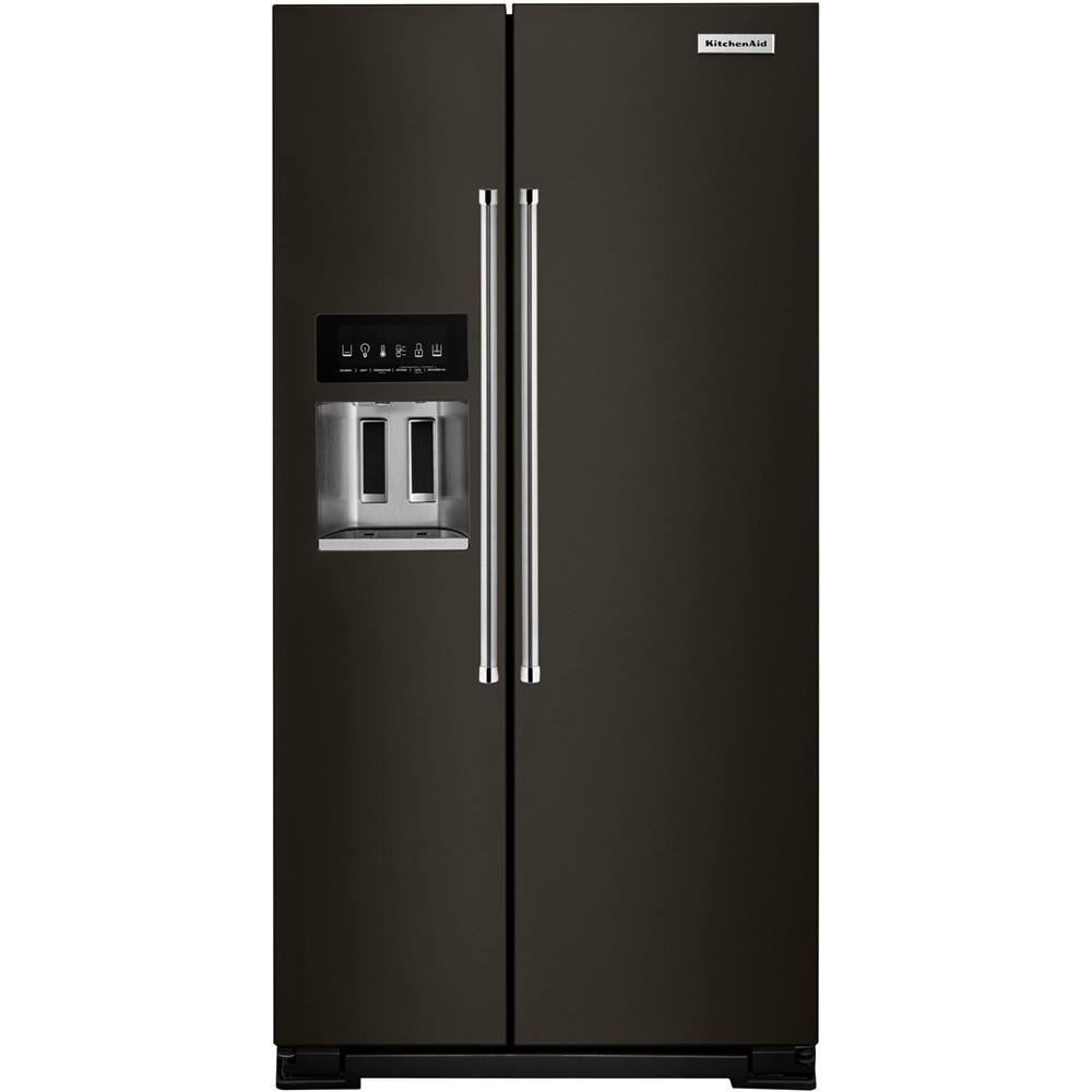 Kitchenaid S Black Stainless Steel Wowza: Side By Side Refrigerators