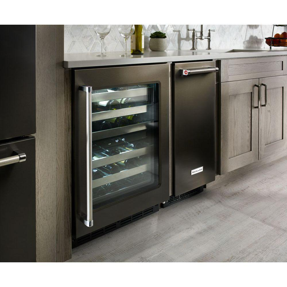 Kuw304ebs Kitchenaid Kuw304ebs Compact Wine Cooler