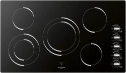 Brand: Fulgor, Model: F3RK36B2, Style: 36 Inch Smoothtop Electric Cooktop