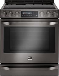 Brand: LG Studio, Model: LSSE3026ST, Color: Black Stainless Steel