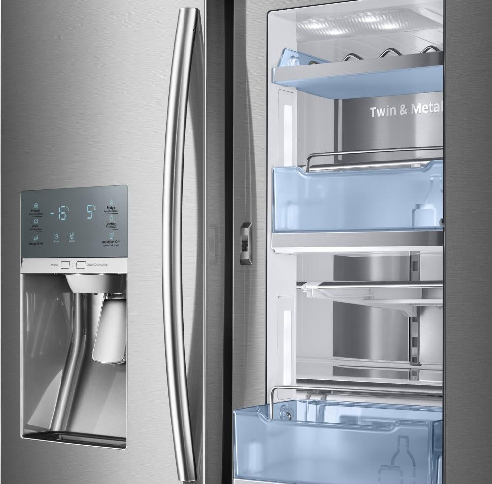 Rf28jbed Samsung Rf28jbed French Door Refrigerators