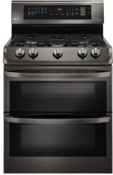 Brand: LG, Model: LDG4313ST, Color: Black Stainless Steel