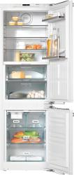 Brand: MIELE, Model: KFNS37692IDE1, Style: 22 Inch Fully Integrated Bottom-Freezer Refrigerator