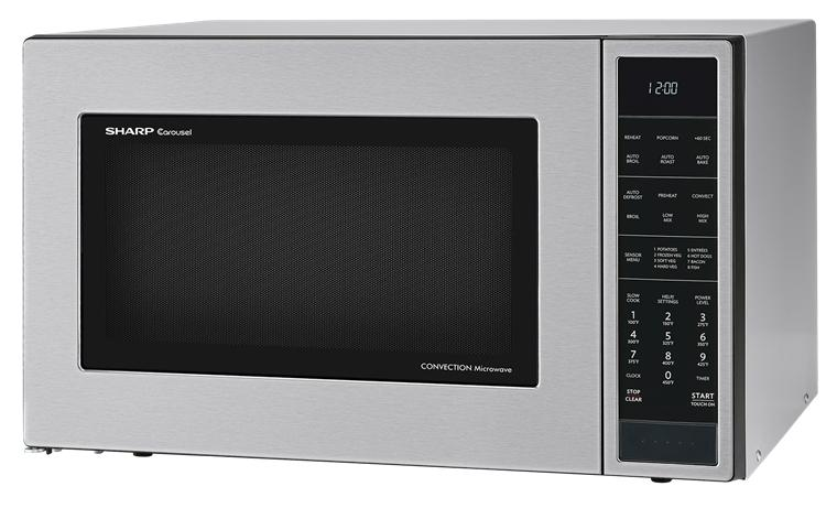 Sharp 1 5 Cu Ft Countertop Microwave Oven With 900