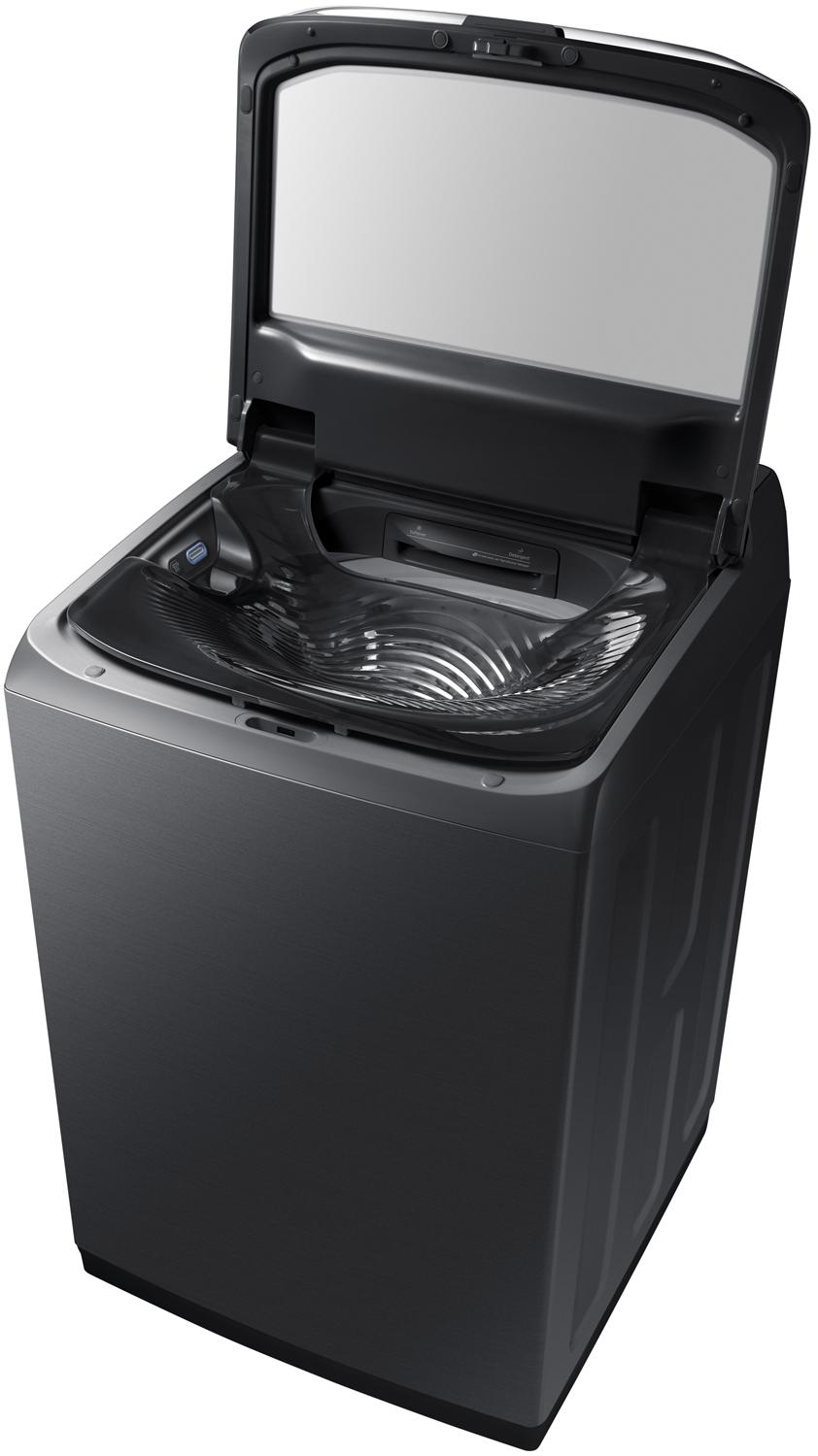 Samsung Wa8750 5 4 Cu Ft Activewash Top Load Washer With Integrated Touch Controls