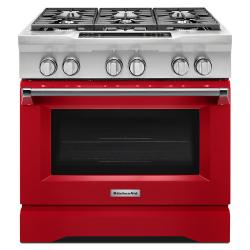 Brand: KITCHENAID, Model: KDRS467VSS, Color: Red