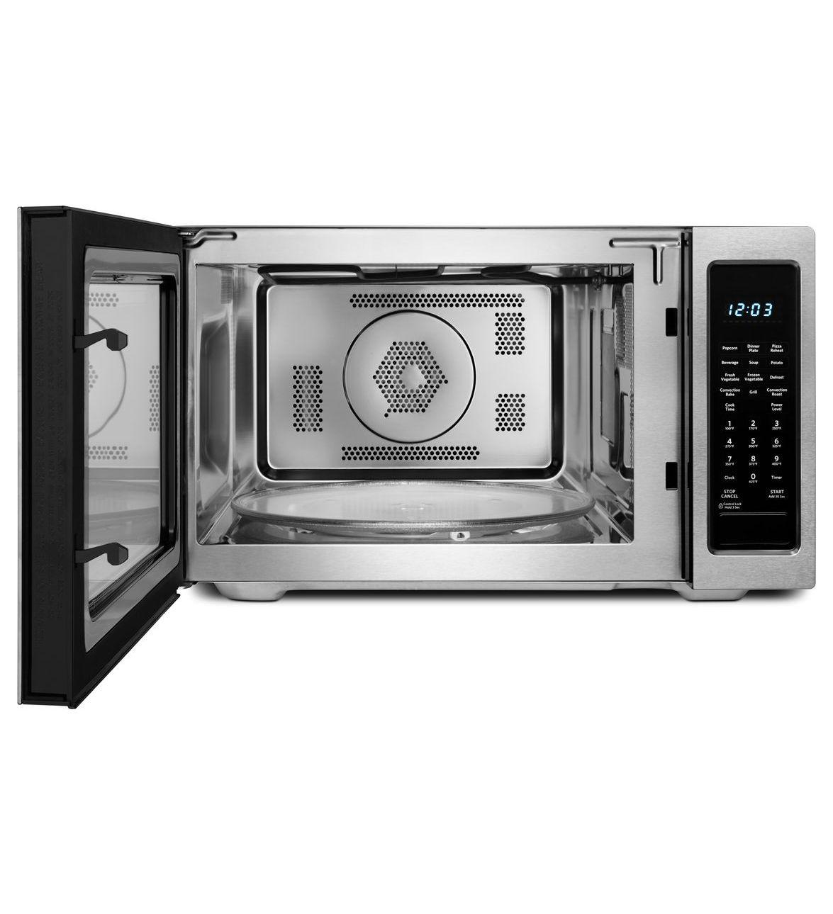 Kitchenaid Kcmc1575bss 1 5 Cu Ft Countertop Microwave