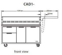 Brand: DCS Outdoor, Model: CAD136
