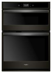 Brand: Whirlpool, Model: WOC75EC7HV, Color: Black Stainless Steel