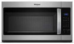 Brand: Whirlpool, Model: WMH31017H, Color: Stainless Steel
