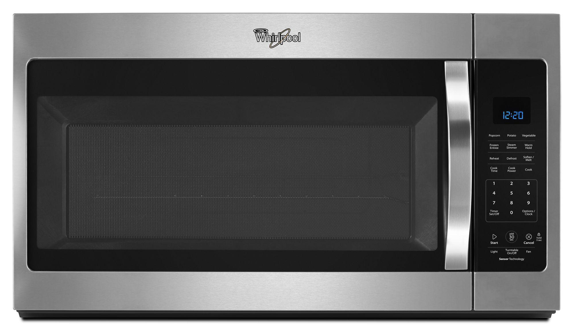Wmh32519fw Whirlpool Wmh32519fw Over The Range Microwaves