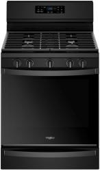Brand: Whirlpool, Model: WFG775H0HB, Color: Black