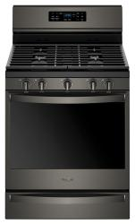 Brand: Whirlpool, Model: WFG775H0HB, Color: Black Stainless Steel