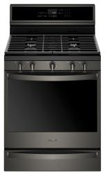 Brand: Whirlpool, Model: WFG975H0HZ, Color: Fingerprint Resistant Black Stainless