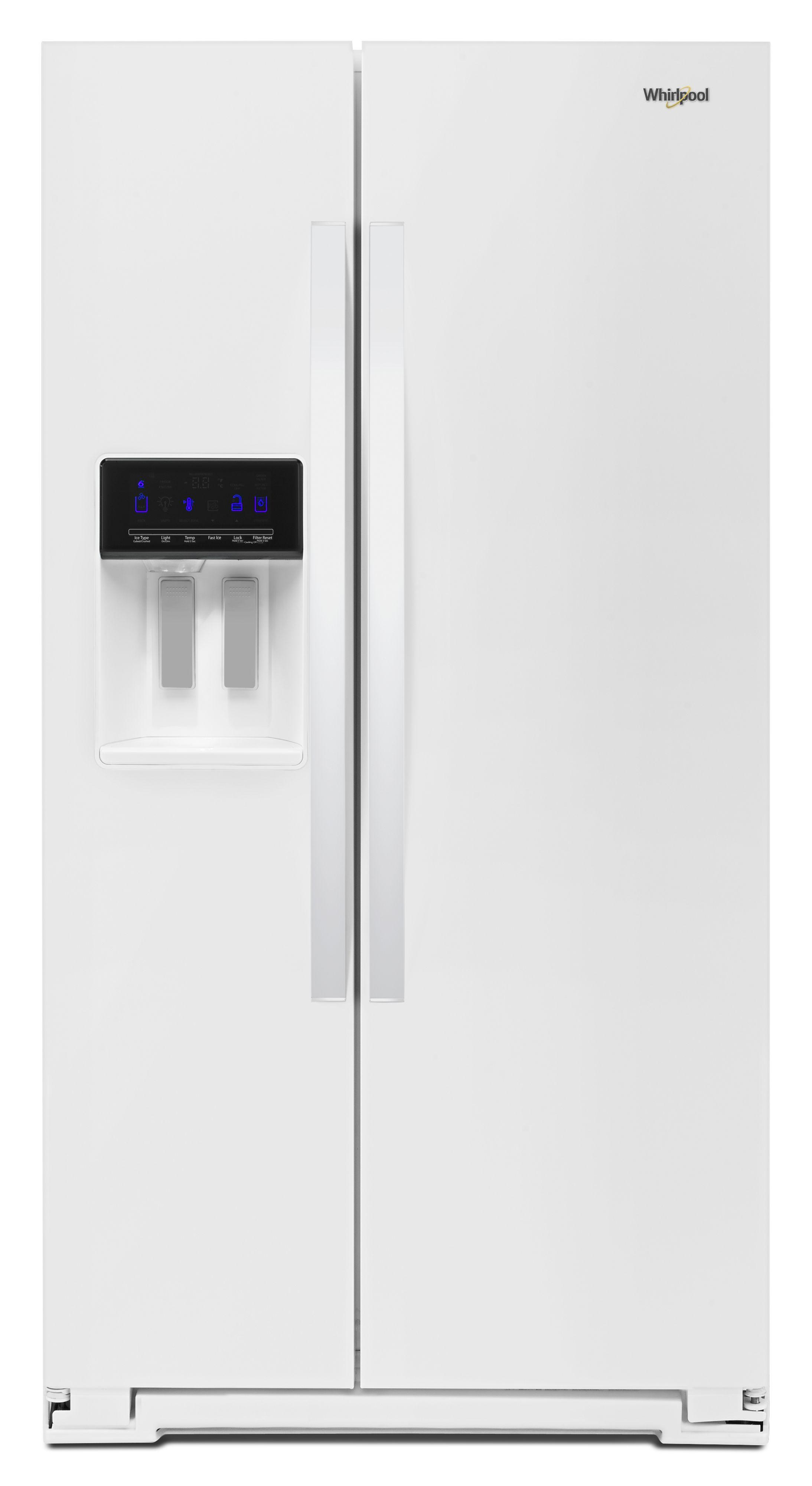 Wrs571cih Whirlpool Wrs571cih Side By Side Refrigerators