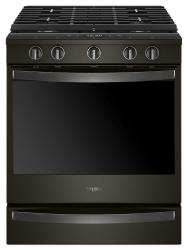 Brand: Whirlpool, Model: WEG750H0HV, Color: Black Stainless Steel