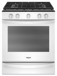 Brand: Whirlpool, Model: WEG750H0HV, Color: White
