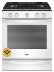 Brand: Whirlpool, Model: WEG750H0H, Color: White