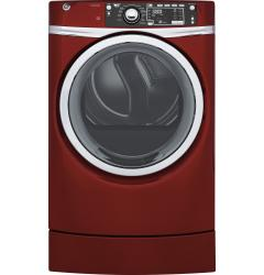 Brand: General Electric, Model: GFD49GRPKRR, Color: Red