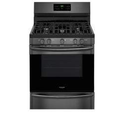 Brand: Frigidaire, Model: FGGF3036T, Color: Black Stainless Steel