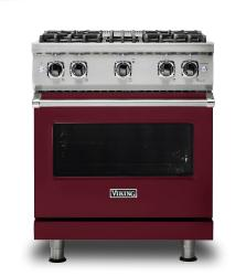 Brand: Viking, Model: VGR5304BBULP, Fuel Type: Burgundy, Natural Gas