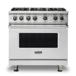 Brand: Viking, Model: VGR5366BSS, Fuel Type: Stainless Steel, Natural Gas