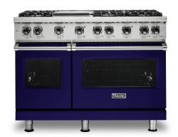 Brand: Viking, Model: VGR5486GSSLP, Fuel Type: Cobalt Blue, Natural Gas