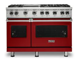 Brand: Viking, Model: VGR5486GSSLP, Fuel Type: Apple Red, Natural Gas