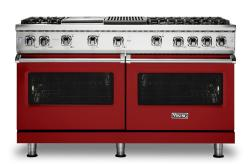 Brand: Viking, Model: VGR5606GQGGLP, Fuel Type: Apple Red, Natural Gas