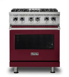 Brand: Viking, Model: VDR5304BSSLP, Fuel Type: Burgundy, Natural Gas