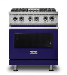 Brand: Viking, Model: VDR5304BGGLP, Fuel Type: Cobalt Blue, Liquid Propane