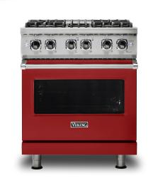 Brand: Viking, Model: VDR5304BGGLP, Fuel Type: Apple Red, Liquid Propane