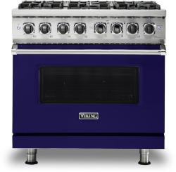 Brand: Viking, Model: VDR5366BBK, Fuel Type: Cobalt Blue, Natural Gas